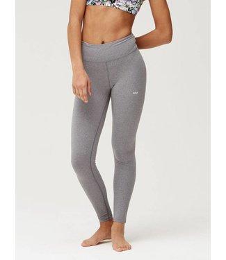 Rohnisch Yoga Legging Hatha Tights - Grey Melange