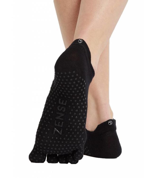 Zense Yoga Sokken - Zwart