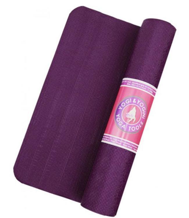 Yogi & Yogini Yoga Mat Basic 5 mm Violet