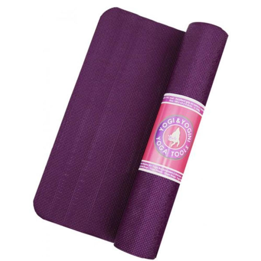Yogi&Yogini Yoga Mat Basic 5 mm - Violet