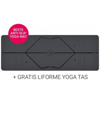 Liforme Yoga Travel Mat Super Grip Grey 2 mm