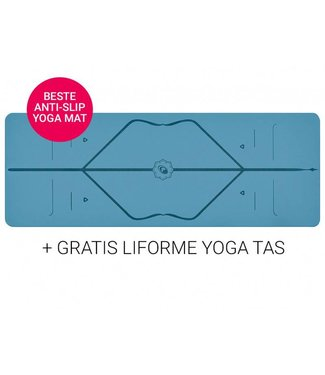 Liforme Yoga Mat Super Grip Blue 4,2 mm