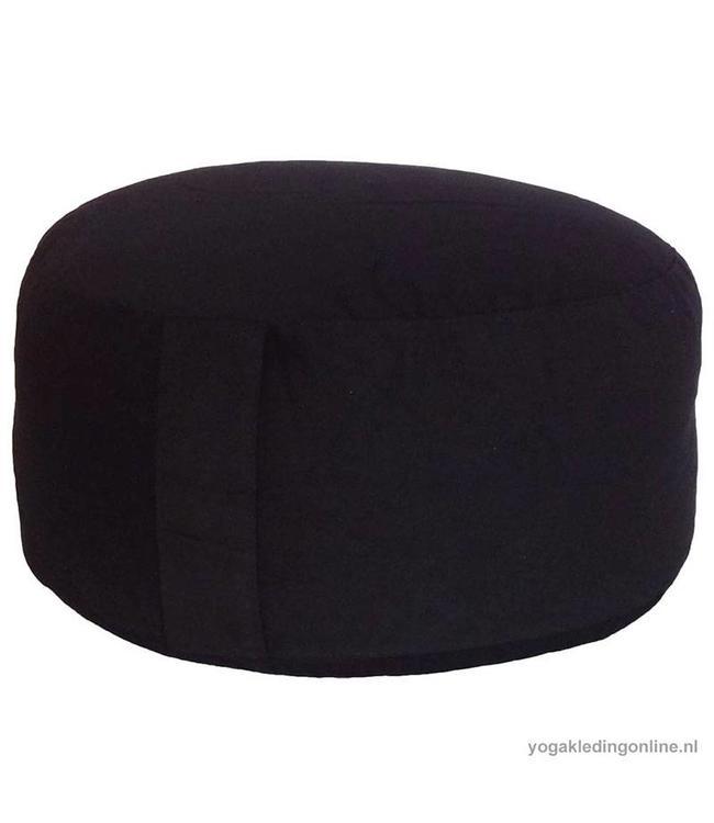Yogi & Yogini Meditatiekussen Extra Groot Zwart 21x36cm