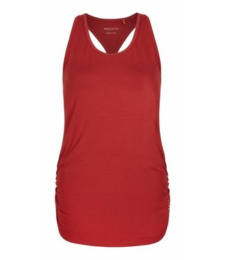 Asquith Yoga Top Chi Open Racerback - Rust