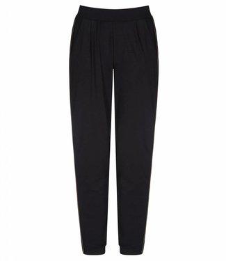 Asquith Yoga Broek Divine Pants - Jet black / Khaki - PRE ORDER