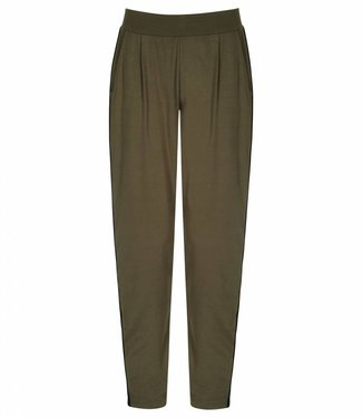 Asquith Yoga Broek Divine Pants Khaki / Jet Black