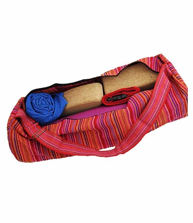 Yogi & Yogini Yogamat Tas XL Multicolor Roze/Rood