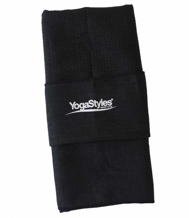 YogaStyles Hot Yoga Handdoek EKO – Zwart