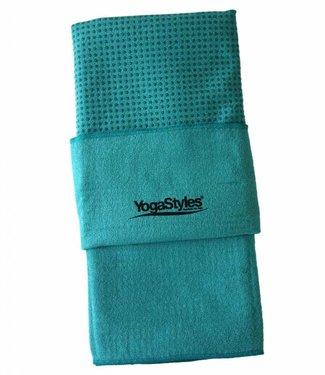 YogaStyles Hot Yoga Handdoek EKO – Turquoise