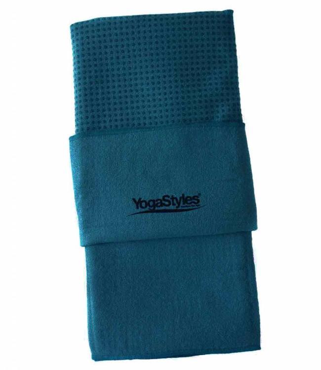 YogaStyles Hot Yoga Handdoek EKO Blauw