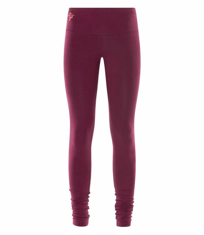 Urban Goddess Yoga Legging Satya - Deep Cherry