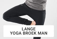 lange yoga broek man