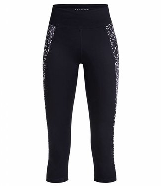 Rohnisch Yoga Capri Legging Cire Cut - Black Dot