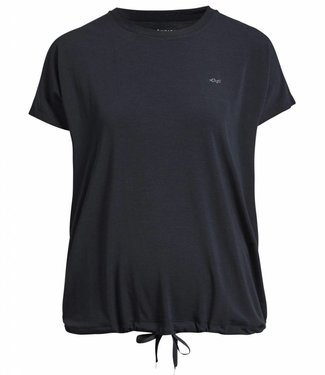 Rohnisch Yoga Shirt Hatha Loose Tee - Black