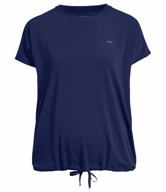Rohnisch Yoga Shirt Hatha Loose Tee - Indigo Night