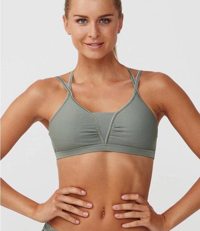 Rohnisch Yoga BH Julie - Combat Green