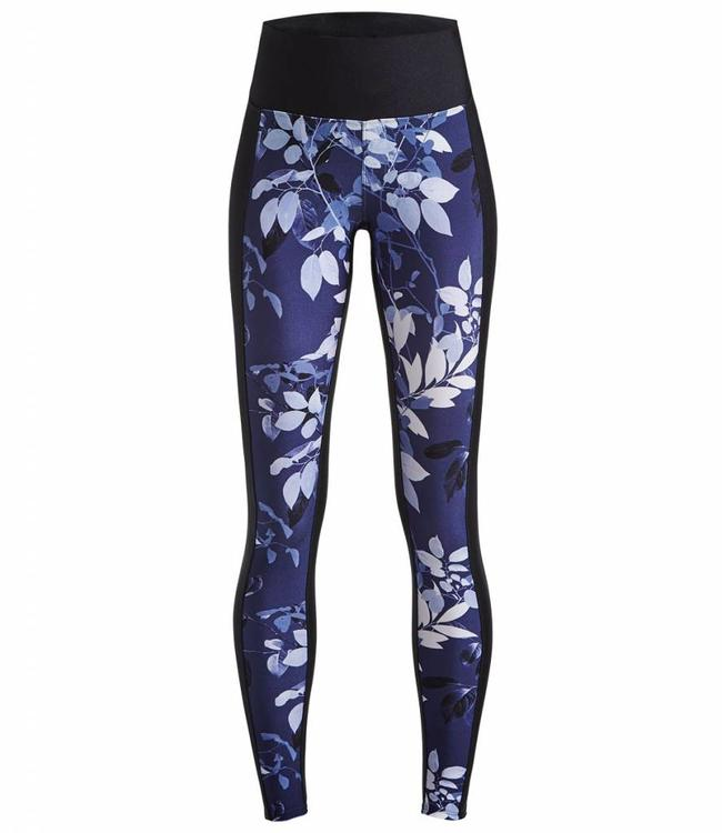 Rohnisch Yoga Legging Combat - Navy Leaves