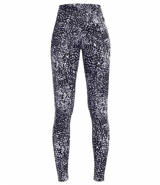 Rohnisch Yoga Legging Flattering - Black Dot