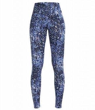 Rohnisch Yoga Legging Flattering - Navy Dot