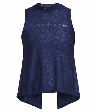 Rohnisch Yoga Top Open Back - Indigo Night