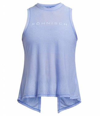 Rohnisch Yoga Top Open Back - Light Blue