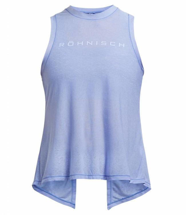 Rohnisch Yoga Top Open Back - Light Blue