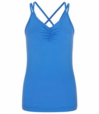 Asquith Yoga Top Conquer Cami - Blue Splash