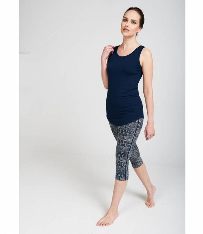 Asquith Yoga Top Go To - Navy