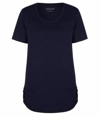 Asquith Yoga Shirt Bend It - Navy