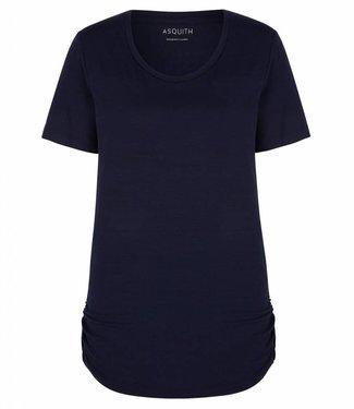 Asquith Yoga Shirt Bend It Tee – Navy