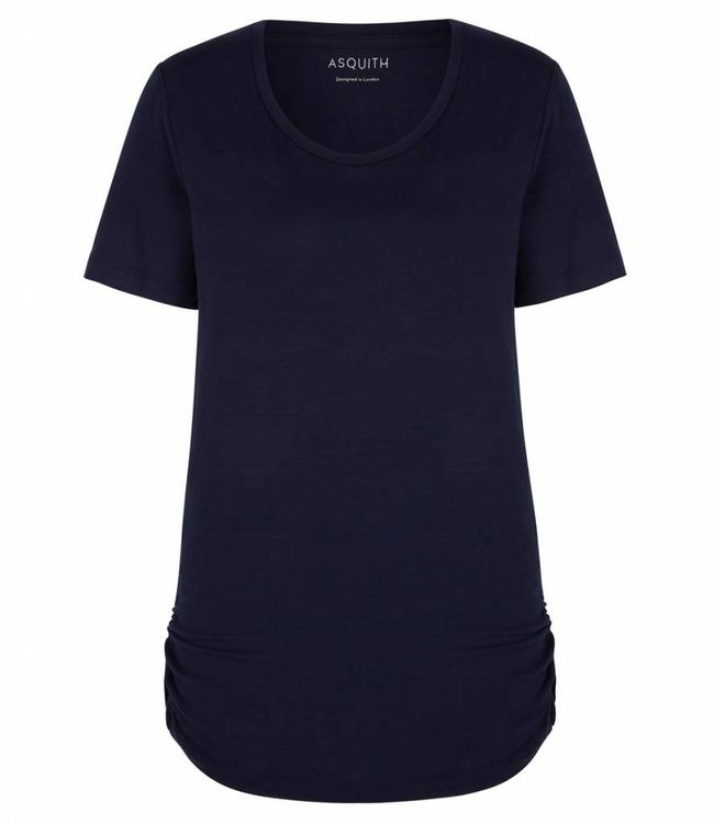 Asquith Yoga Shirt Bend It – Navy