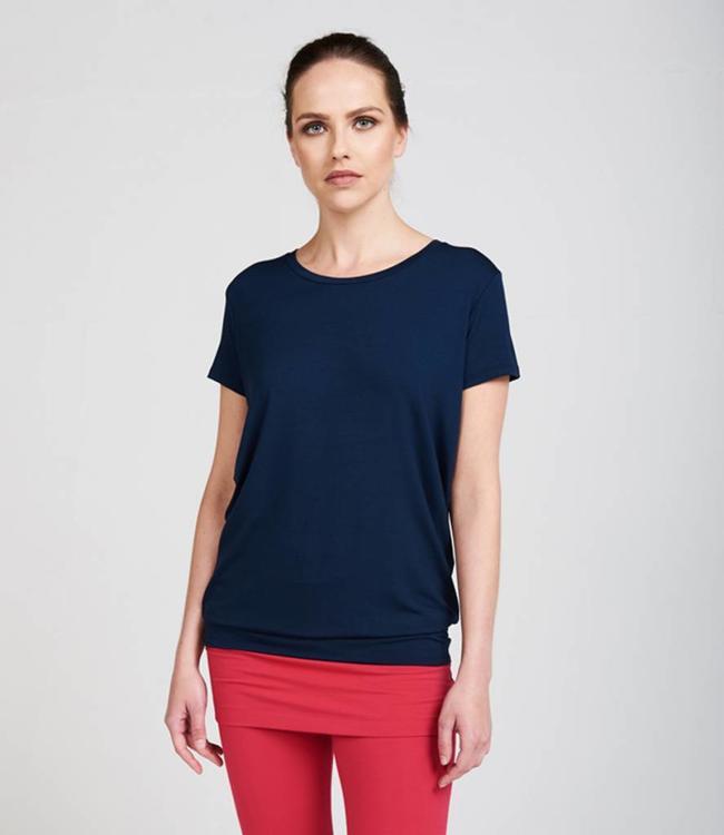 Asquith Yoga Shirt Smooth You - Navy