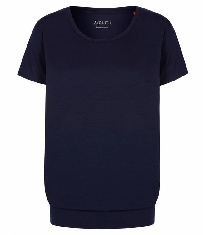 Asquith Yoga Shirt Smooth You - Navy