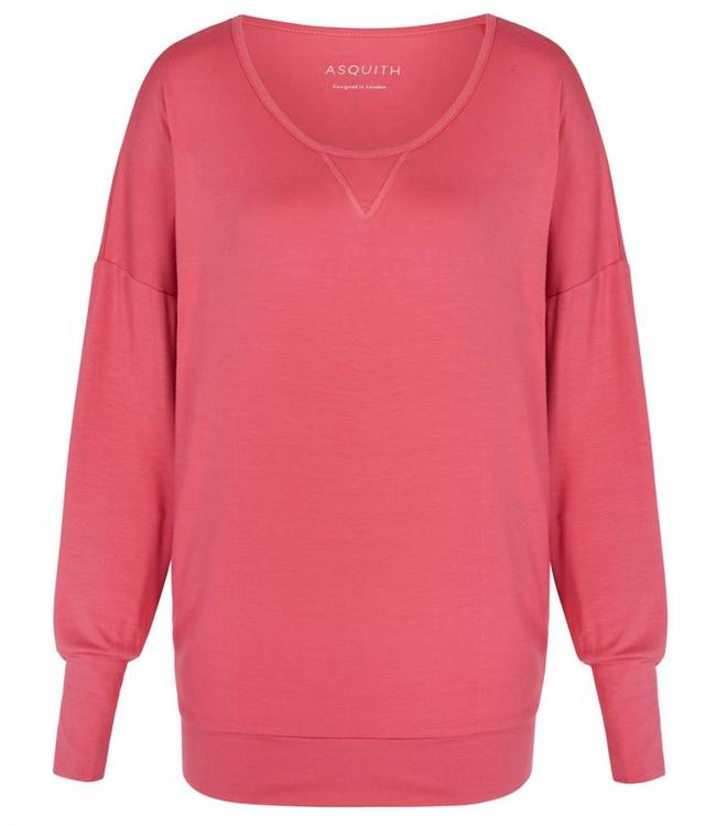 Asquith Yoga Shirt Batwing - Flamingo