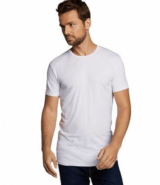 Bamboo Basics Bamboe Shirt Heren Ruben (2-pack) - Wit