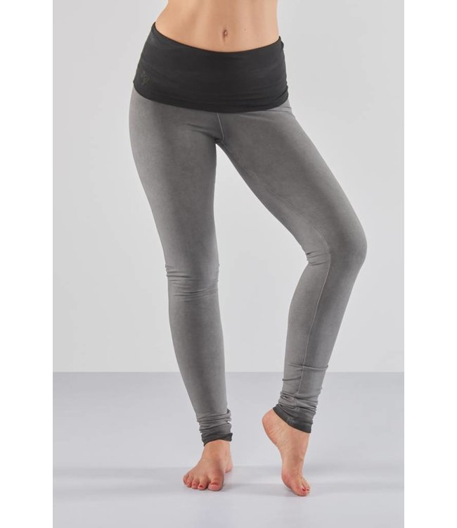 Urban Goddess Yoga Legging Shaktified Urban Roots - Off Black