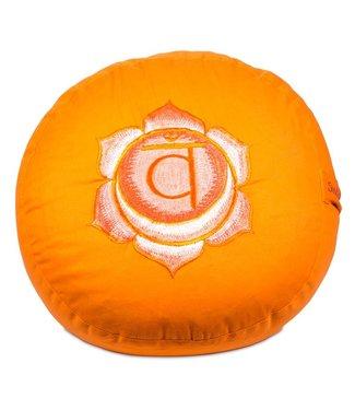 Yogi & Yogini Meditatiekussen Tweede Chakra Swadhishthana - Oranje