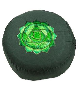 Yogi & Yogini Meditatiekussen Vierde Chakra Anahata - Groen