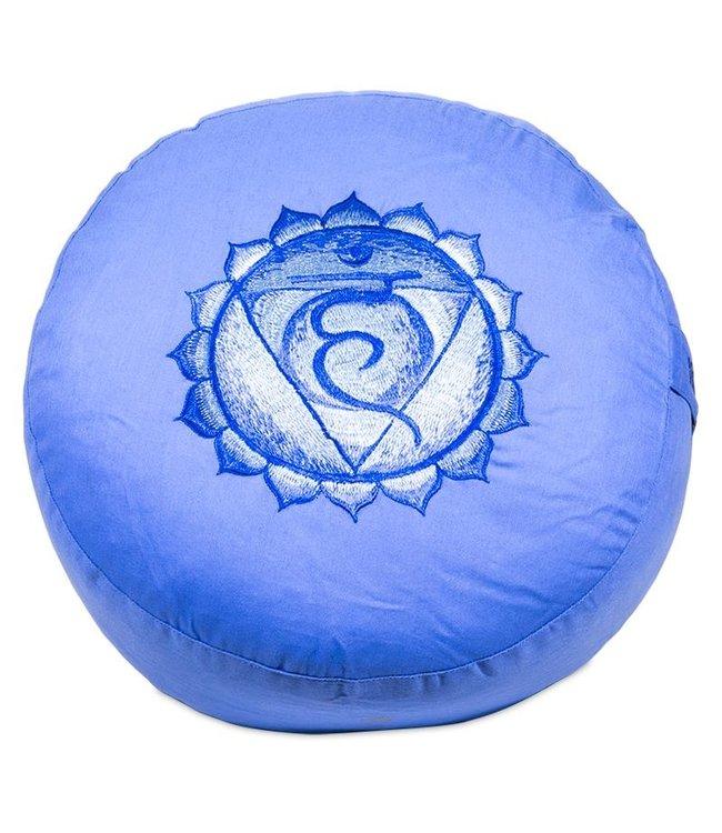 Yogi & Yogini Meditatiekussen Vijfde Chakra Vishuddha - Blauw