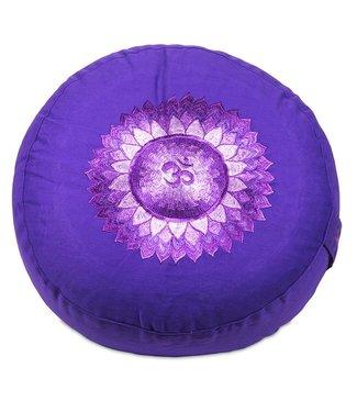 Yogi & Yogini Meditatiekussen Zevende Chakra Sahasrara - Violet