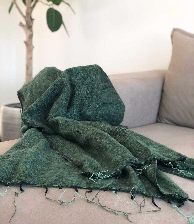 Yogi & Yogini Meditatie Omslagdoek - Groen