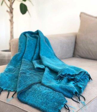 Yogi & Yogini Meditatie Omslagdoek - Turquoise