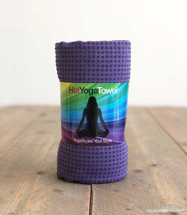 YogaStyles Hot Yoga Handdoek EKO Paars