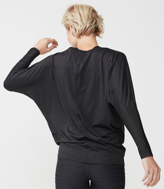 Rohnisch Yoga Shirt Drape - Black