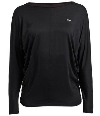Rohnisch Yoga Shirt Drape - Black