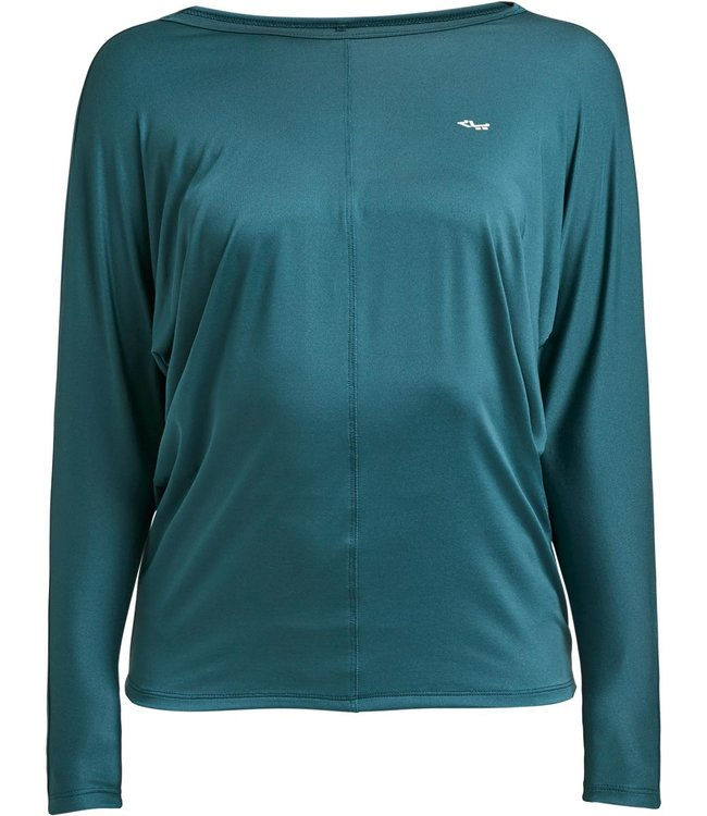 Rohnisch Yoga Shirt Drape - Baltic Green