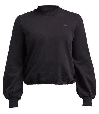 Rohnisch Yoga Sweater Comfy Cropped - Black