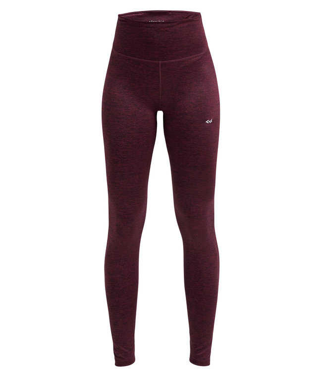 Rohnisch Yoga Legging Lasting High Waist - Burgundy