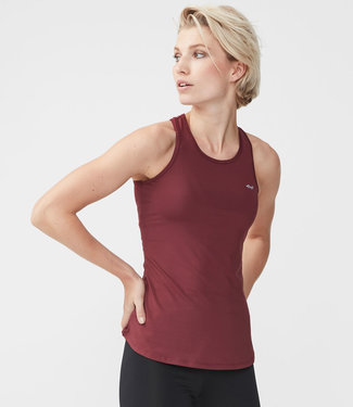 Rohnisch Yoga Top Solid - Burgundy