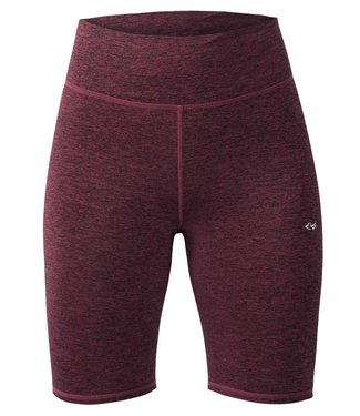 Rohnisch Yoga Lasting Biker Tights - Burgundy